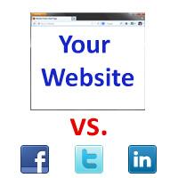 Website vs. Social Networks