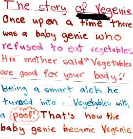 Story of Vegenie