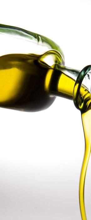 Botella de aceite hipocalórico