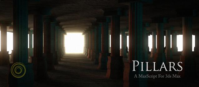 3Ds Max 2015 Pillars Script Short Promotional Video