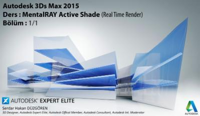 MentalRAY Active Shade (Real Time Render)