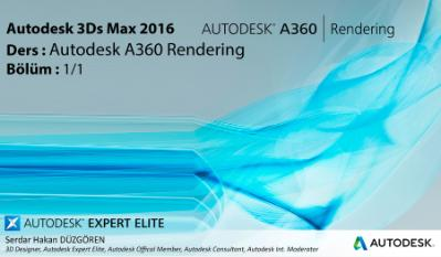 Autodesk 3Ds Max 2016 A360 Cloud Render