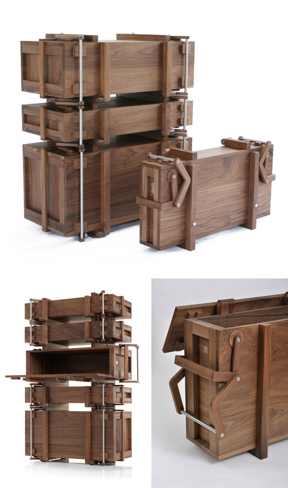 Cabinet of Chests - Wouter Scheublin