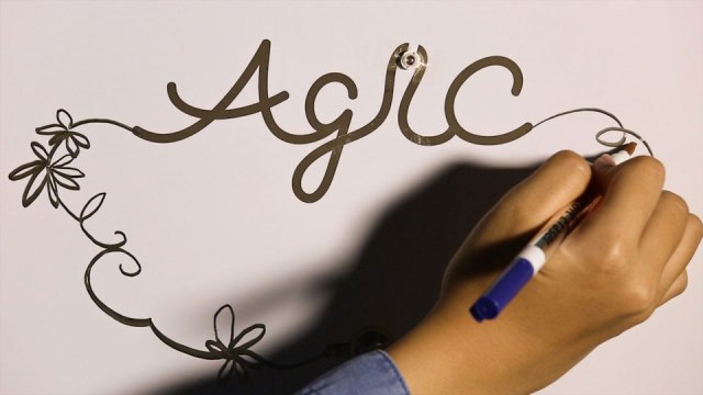 Agic electronic pen