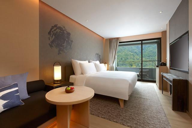 2017年開幕的礁溪寒沐酒店以「挑戰礁溪最頂級」的稱號進駐宜蘭礁溪,是寒舍餐旅集團旗下的首間自創品牌酒店|東南旅遊