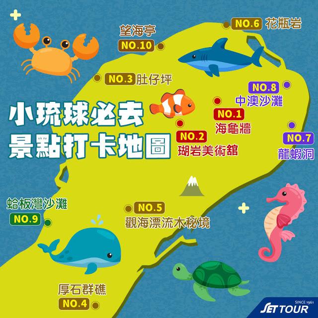 這年頭小琉球跳島旅行正夯!今年夏天就在小琉球渡假放空去!小琉球面積約6.8公里,大小僅於綠島的一半,環島一區只需半個小時,難怪小琉球有著滿滿的人情味,加上小琉球天氣一年四季氣候宜人,任何時間都是適合前往喔!哞寶特搜隊幫你整理了小琉球交通、必玩體驗、搭船船班、景點、美食,保證讓你玩好吃好一次滿足! | 東南旅遊