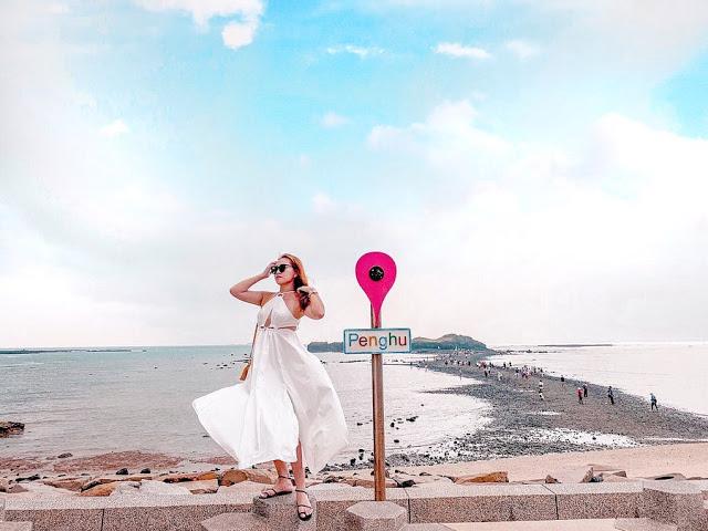 澎湖奎壁山摩西分海|東南旅遊