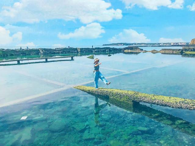 澎湖池西岩瀑|東南旅遊
