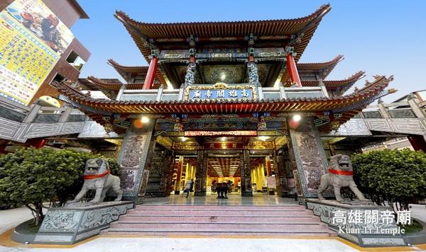 高雄關帝廟,也就是高雄武廟,主要祭祀為關聖帝君,這裡拜月老跟其他廟宇不太相同|東南旅遊