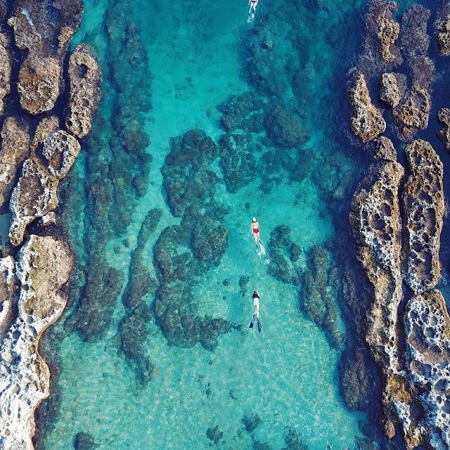小琉球景點厚石群礁|東南旅遊