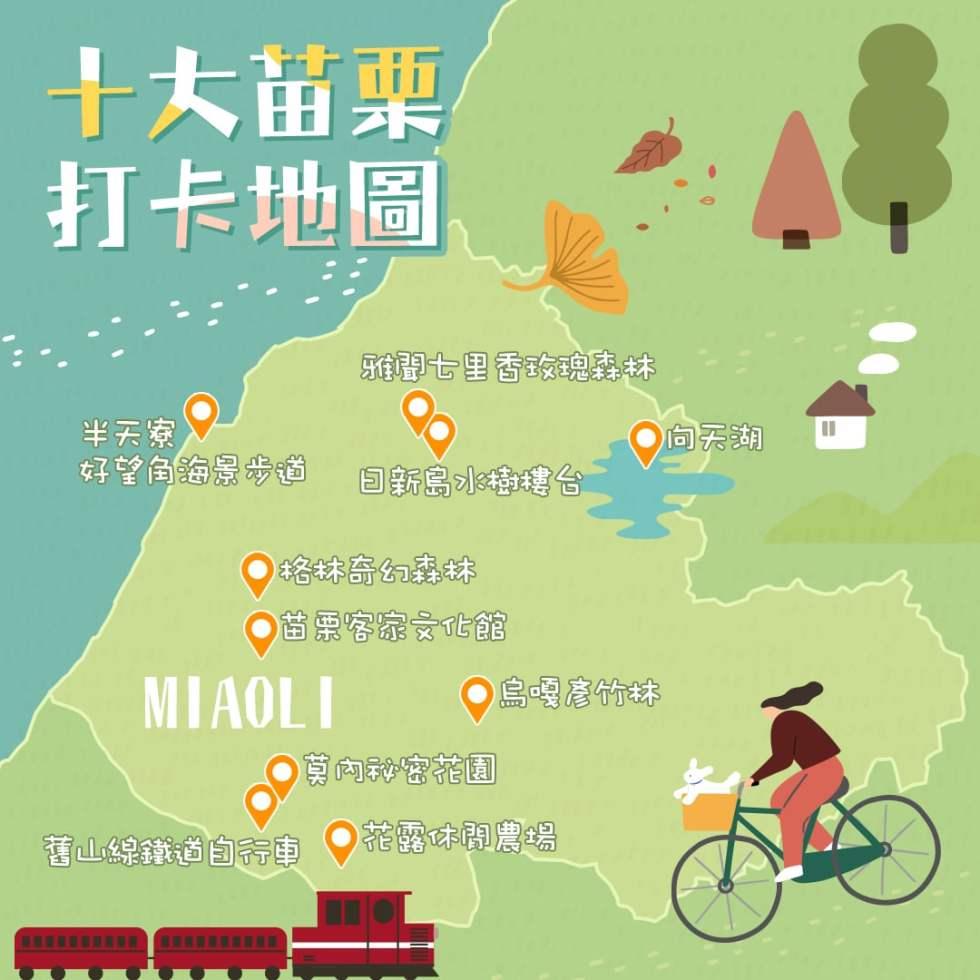 十大苗栗打卡地圖 | 東南旅遊