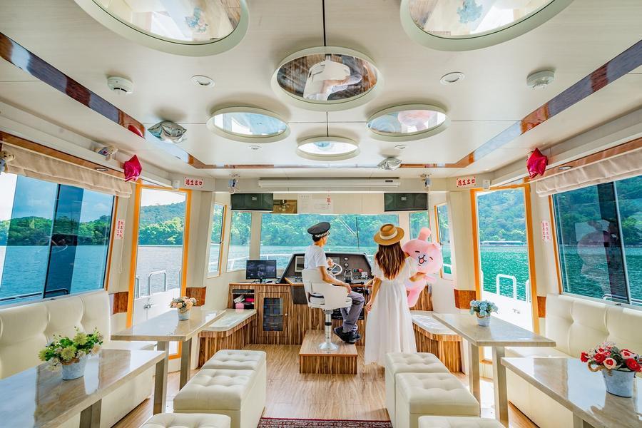 環島巴士日月潭坐船 | 東南旅遊