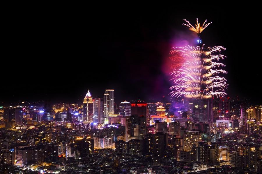 台北101跨年||東南旅遊