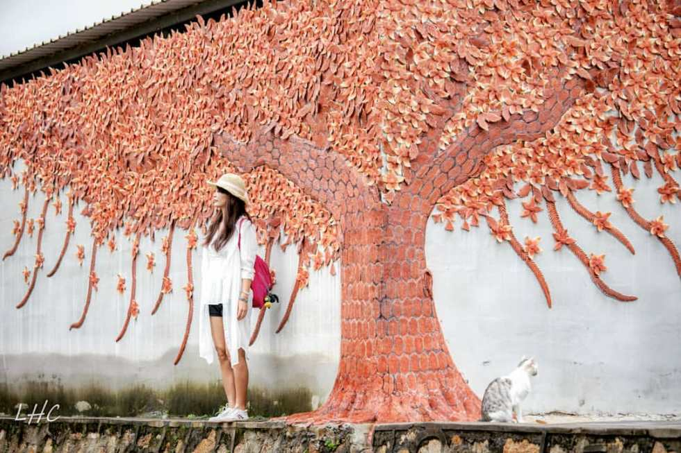 金門瓊林窯燒磚牆|東南旅遊