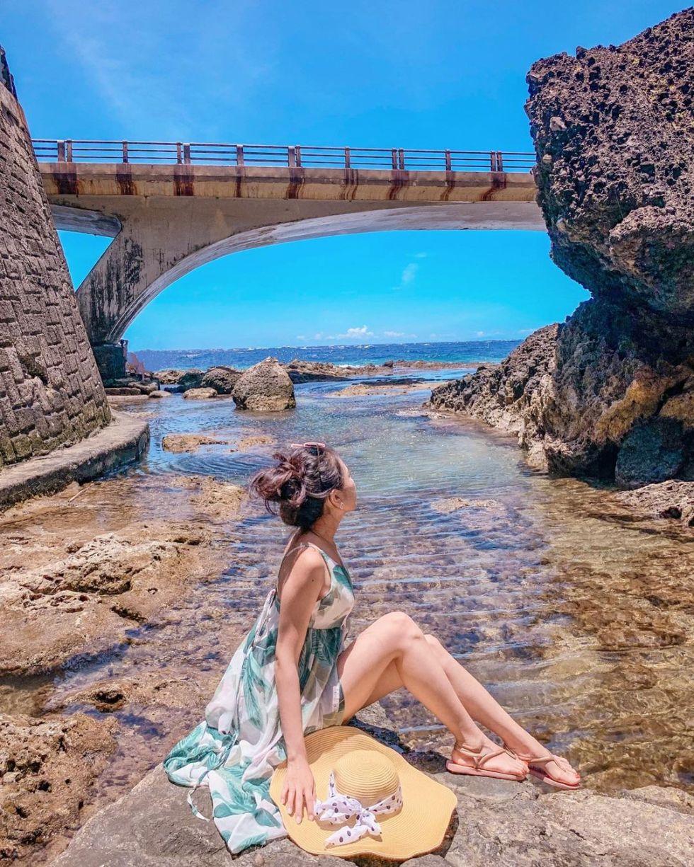 綠島馬蹄橋 東南旅遊