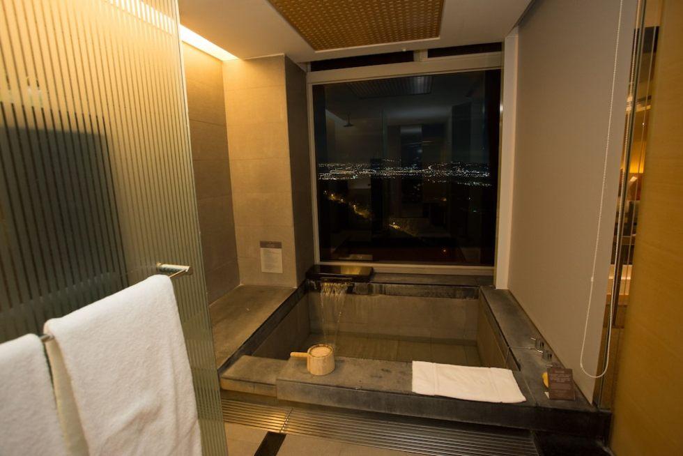 台中清新溫泉飯店 泡湯池 東南旅遊