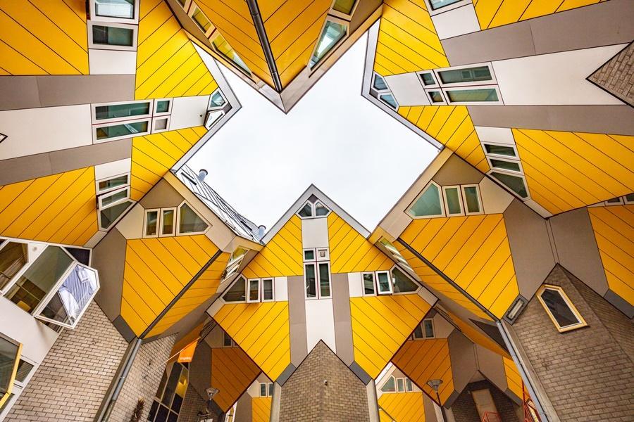 荷蘭鹿特丹方塊屋|東南旅遊