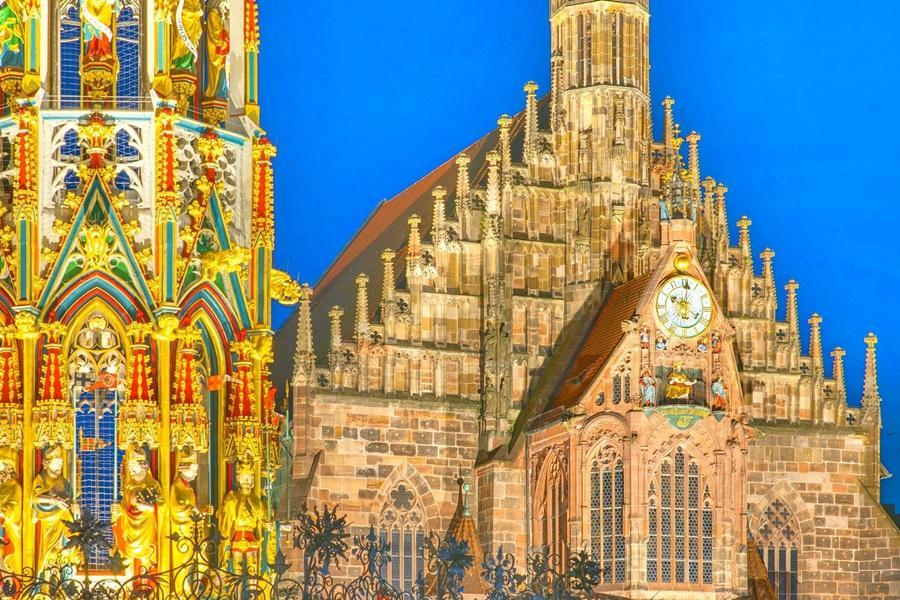 德國紐倫堡聖母大教堂 東南旅遊