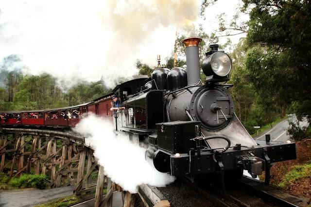 普芬古董蒸汽火車|東南旅遊