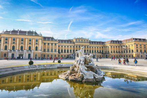 維也納熊布朗宮殿 東南旅遊