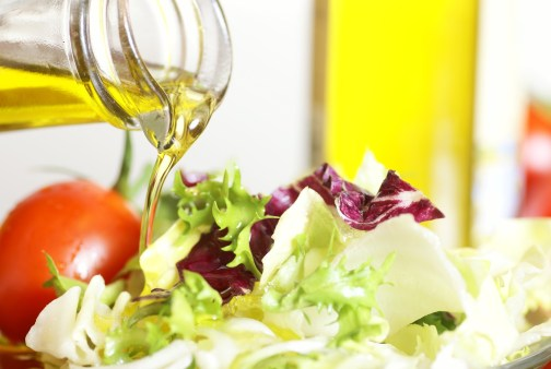HUiles alimentaires salade bio