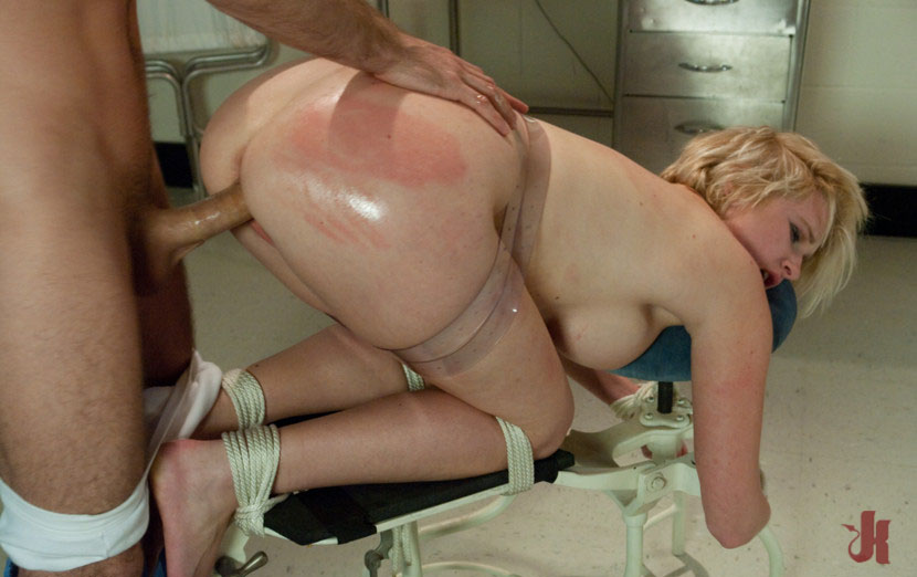 Sex And Submission - Cute And Blonde Girl Gets Flogged -7297