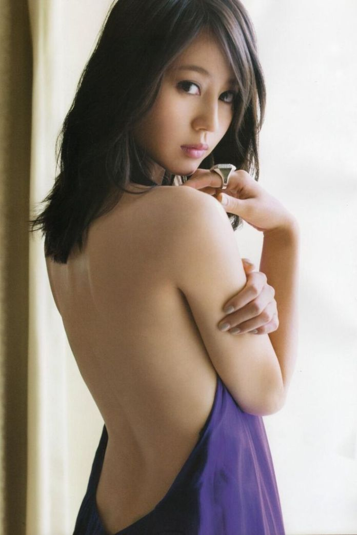 Japanese actress Maki Horikita 堀北 真希
