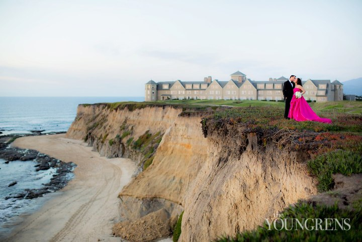 Indian wedding couples photo session Rotz-Carlton Half Moon Bay