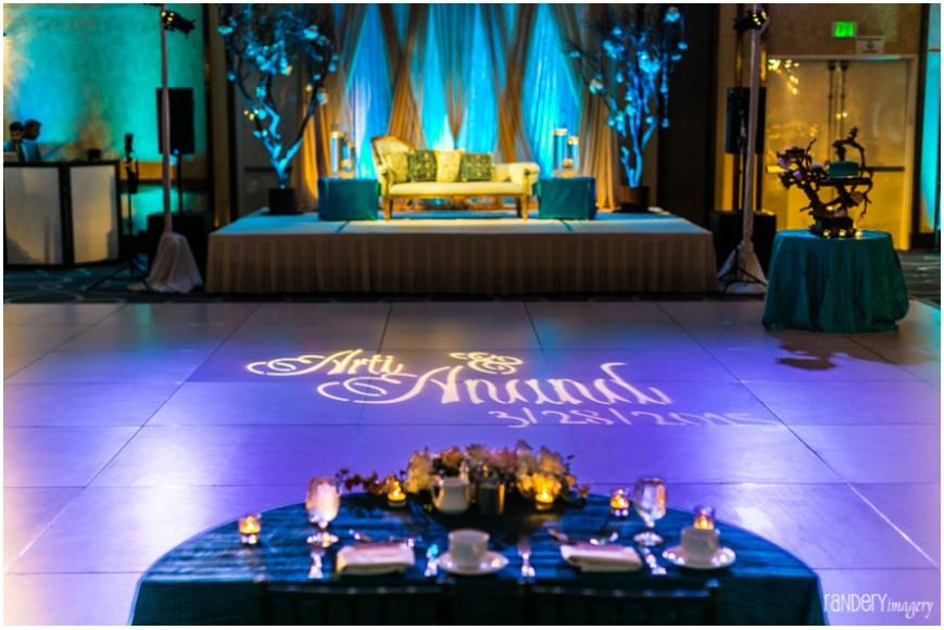 03-California-Long-Beach-Hyatt-Orange-County-Indian-Wedding-Reception-Photographer-ballroom-decor-florals-dance-floor
