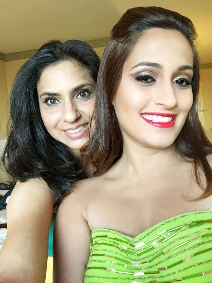 Singer, Shweta Pandit after Ruby did her makeup