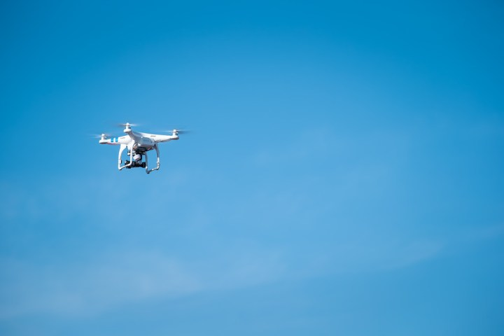 Our photographer brought a drone to capture the baraat :)