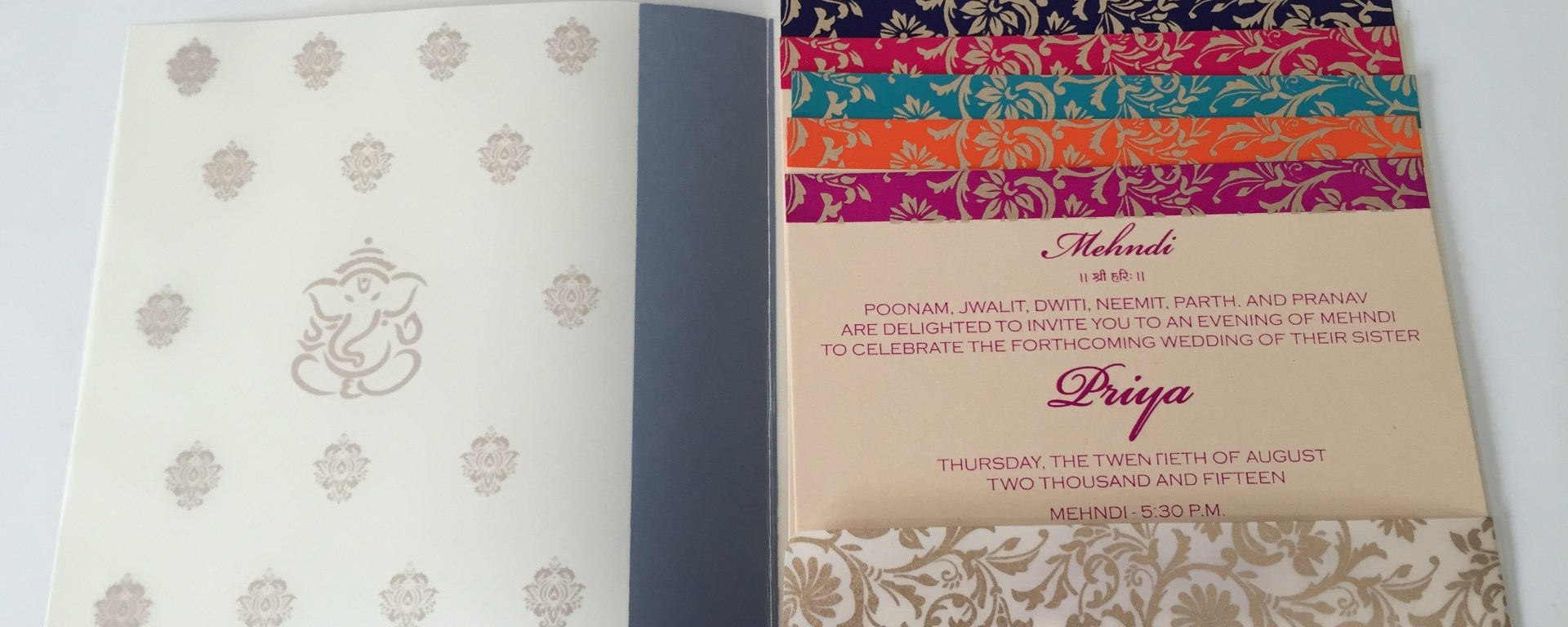 Indian wedding invitations are an often overlooked cost