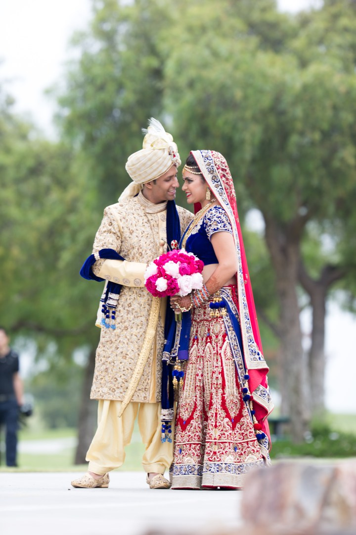 Sahil and Payal clothes for ceremony
