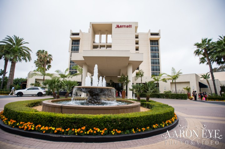 The Marriott Newport Beach hotel