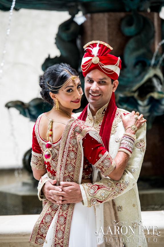 Reha-Vijay-Newport-Beach-Marriott-South-Asian-wedding-Indian_wedding-Hindu-Jain-North_Indian-mother-son-dance-balroom-Arron-Eye-Photography-The-Atrium-lehenga-sera