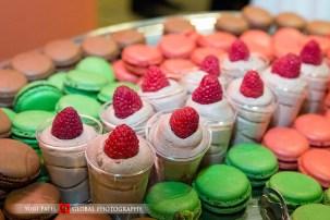dessert at Indian wedding reception