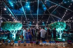 Indian wedding outdoors.