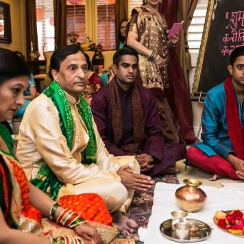 Indian wedding pre-ceremony poojas