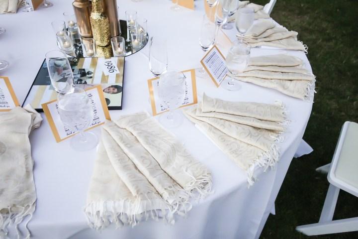 Rakhee-Amrish-gift-exchange-Indian-wedding-venue-photography-Greycard-Hindu-outdoor-dresses-bride-groom-vineyard-South-Asian-wedding-table-setting-decor