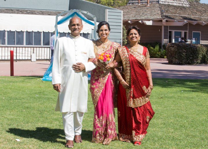 Ashmi-Suraj-Indian-wedding-mandap-varmala-San-Diego-bride-parents