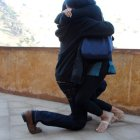 Meera fell to her knees to hug Anurag when he proposed!