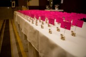 Great detail! Matching escort cards.