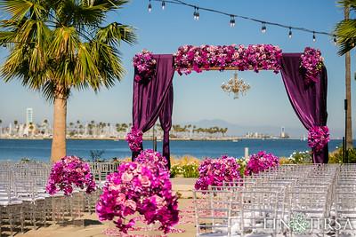 31-1--Hotel-Maya-Indian-wedding-South-Asian-ceremony-Hindu-Mandap-baraat-Vista del Mar-134
