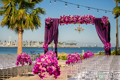 31-1--Hotel-Maya-Indian-wedding-South-Asian-ceremony-Hindu-Mandap-baraat-Vista del Mar-134