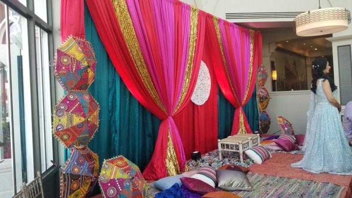Indian wedding sangeet at Embassy Suites SFO Waterfront