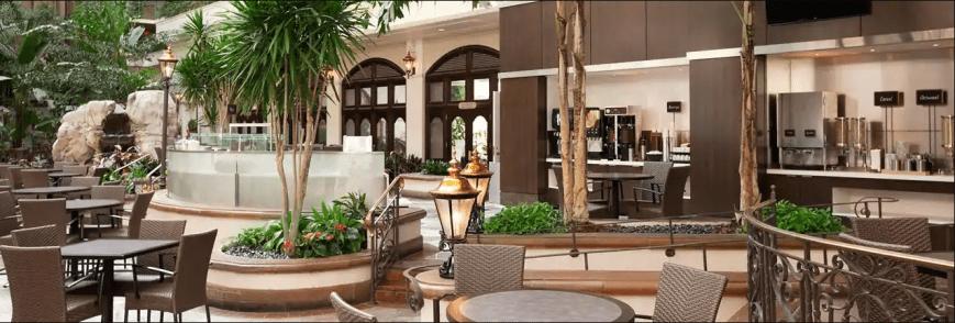 6-Embassy-Suites-San-Francisco-Airport-Waterfront-Ballroom-Indian-Wedding-Venue-Atrium