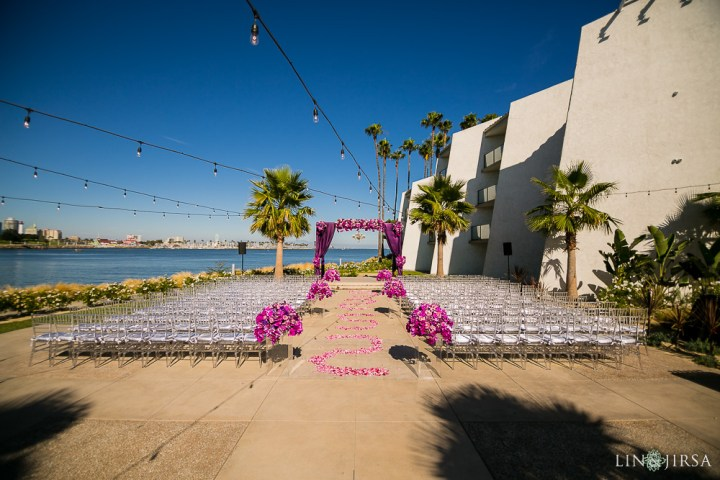 Indian wedding ceremony at Vista del Mar venue at Hotel Maya