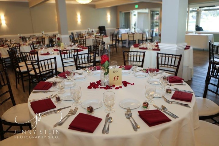 Indian wedding reception at Porter Valley Country Club.