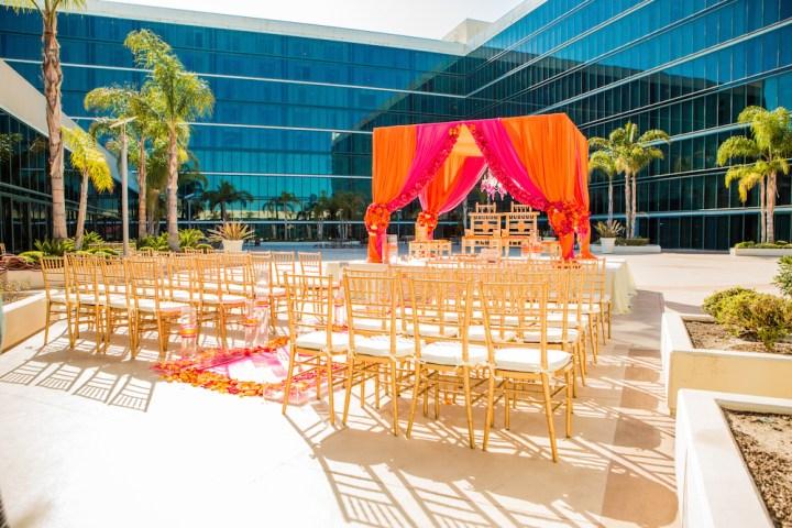 Indian wedding at the Hilton Anaheim