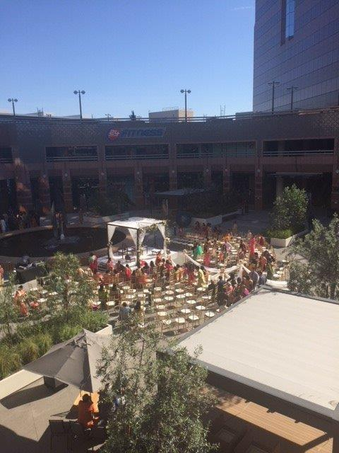 Hindu wedding at the Hilton Long Beach.